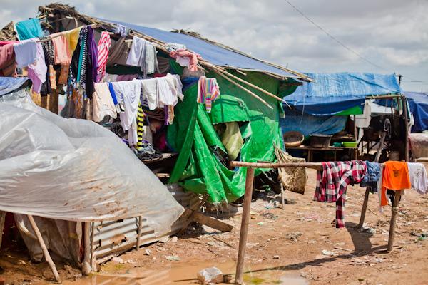 Cambodia-Slums