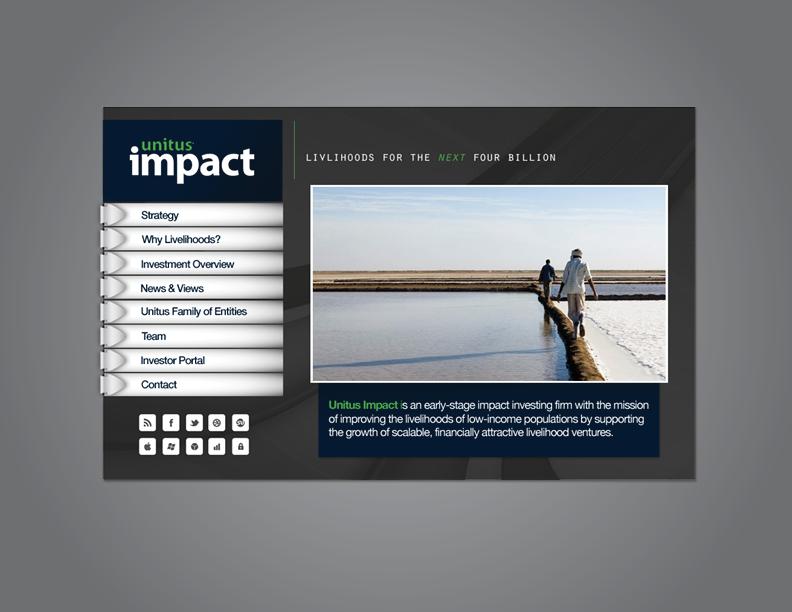 UNITUS | Website Design |Caroline Mitic | Graphic Design