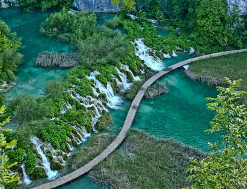 Plitvice, maybe heaven does exist . . .