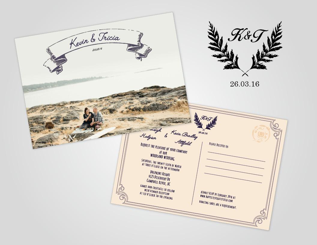 Wedding Invitations - Caroline Mitic | Graphic Design | Web Design ...